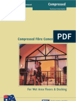 Compressed FIbre Cement Sheeting