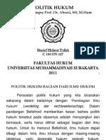 Tugas Mid - Politik Hukum_edit