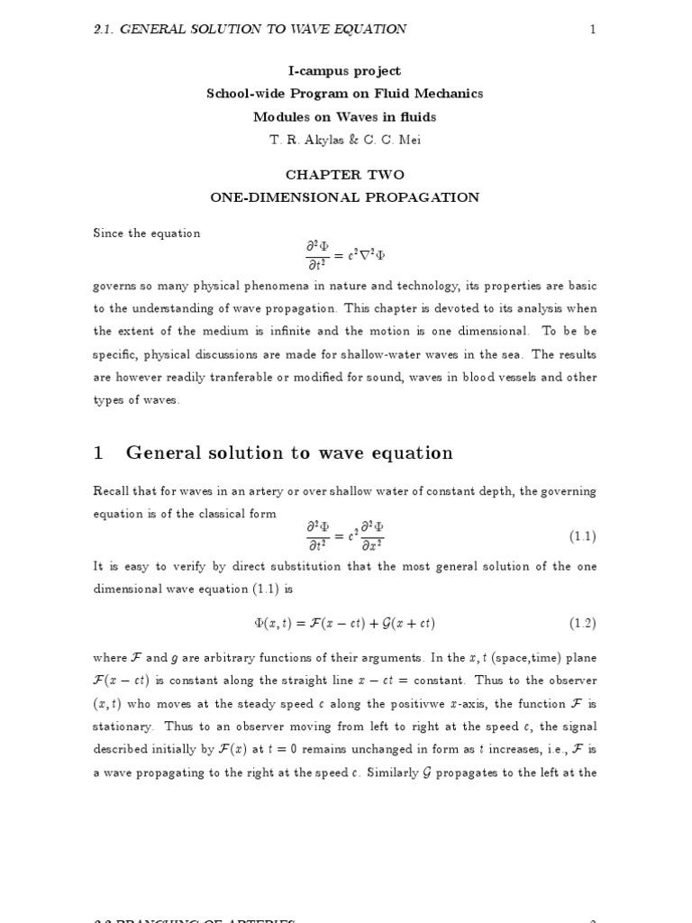Wave Equation | Wave Equation | Waves