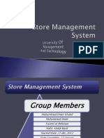 Store Management  System (MS Access)