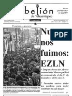 Semanario la Rebelión de Tehuantepec 40