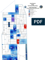 Gang Map Analysis of Chicago in Detail 2011