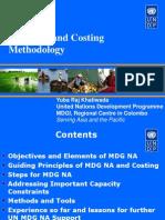 Micronesia MDG NA Methodology-Yuba Raj Khatiwada