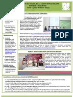 NAMHHR E-Newsletter Issue(June-Oct 2012)