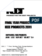 61608059 Final Year Projects IEEE MCA Projects