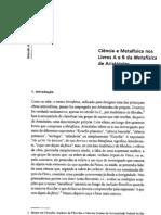 ARISTÓTELES-Livors A e B da Metafísica
