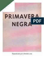 Primavera Negra - Henry Miller