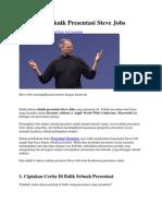 9 Rahasia Teknik Presentasi Steve Jobs.docx