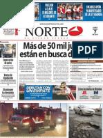 Periodico Norte de Ciudad Juárez 7 de Enero de 2013