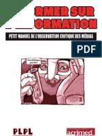 Manuel Observateur Critique Media 2012