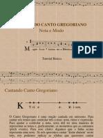 Cantando Canto Gregoriano (retirado da internet)