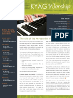 Worship Newsletter June-July 2012