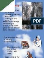 Students' Prayer