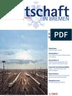 Wirtschaft in Bremen 01/2013 - IHK-Jahresthema