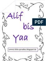 Alif bis Ya