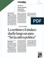 Rassegna Stampa 07.01.13