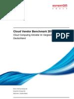 Cloud Vendor Benchmark 2010