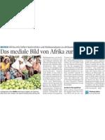 Das mediale Bild von Afrika zurechtrücken