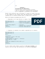 ejemplos para dev-c