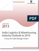 India Logistics & Warehousing Industry Outlook to 2016 - Focus on Cold Storage Chains