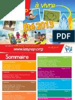 Catalogue 2013 PEP de Franche-Comté