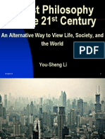 An Alternative Way to view Life, Society, and the World