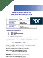 Informe diario ONEMI MAGALLANES 07.01.2013