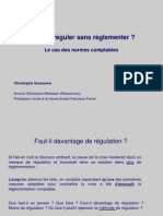 2008-11-22 Réguler sans réglementer - CHG