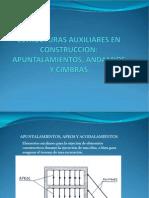 ESTRUCTURAS AUXILIARES EN CONSTRUCCION