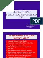 Láminas ponencia sobre Trastorno Semántico Pragmático (TSP), por Elvira Mendoza