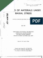 Damping of Matrls Undr Biaxial Stress