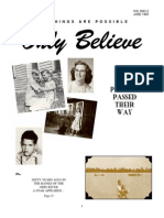 Testimonies -Only Believe Magazine