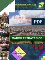 2 Marco Estratégico PDM  2007-2011
