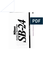 manual flash nikon sb24