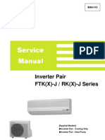 Inverter Pair FTK(X) J RK(X) J Service Manual