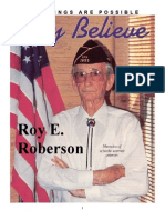 Roy Roberson -Only Believe Magazine