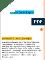 Oracle Depot Repair PPT