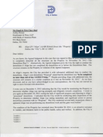 Demolition Letter for 600 Elsbeth