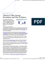 America's Other Energy Revolution and Why It Matters