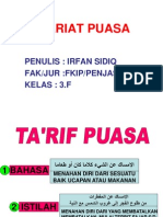 P. Point Syariat Puasa