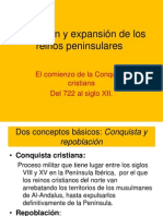 Origen y Expansion Reinos Peninsulares