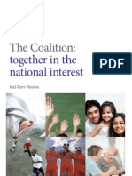 Mid-Term Review - The Coalition - Together in the National Interest