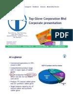 Top Glove Corporation Bhd Corporate presentation