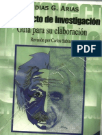 el proyecto de investigaciòn