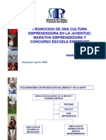 PROYECTO PRODUCTIVO EMPRENDEDORES JOVENES DE CABANACONDE