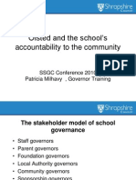 Ofsted and Community