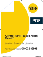 Yale HSA6400 alarm installation manual