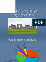 The making of the English Language