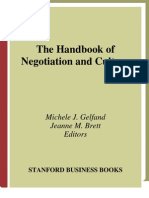 The Handbook of Negotiation and Culture