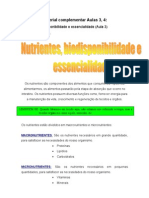 Material Complementar Aulas 3 e 4 Bromatologia